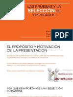 Las Pruebas y La Seleccion de Empleados.pptx