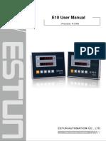 E10 User Manual