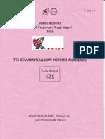 Soal Sbmptn Tkpan 20151