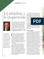 El Albedrio y La Inspiracion
