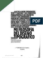 09024018 MAJOOR - La Dialéctica Entre Tipografrías