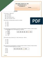 OA1 Numeros y Operaciones (1) Cuarto Básico