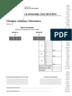 PAU Català 2013 Enunciat
