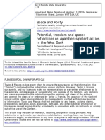 Space and Polity Volume 18 issue 1 2014 [doi 10.1080%2F13562576.2013.880010] Boano, Camillo; Leclair-Paquet, Benjamin -- Potential, freedom and space- reflections on Agamben's potentialities in the We.pdf