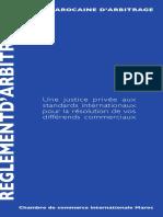 Cour Marocaine DArbitrage Règlement DArbitrage1