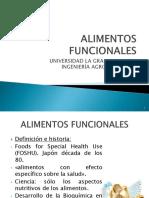 Alimentos Funcionales definición
