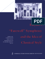 Haydns Farewell Symphony and the Idea of Classical Style Through-Composition and Cyclic Integration in his Instrumental Music Cambridge Studies.pdf