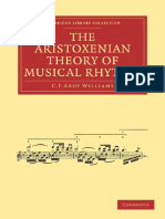 The Aristoxenian Theory of Musical Rhythm Cambridge Library Collection - Music.pdf