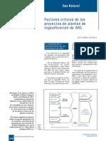 394-216 Factores Críticos de Los Proyectos de Plantas de Regasificación de GNL