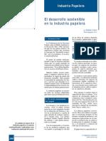 394-266 El Desarrollo Sostenible en La Industria Papelera