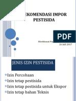 Impor Pestisida (Bahan PPVTPP_Yogya)