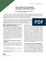 Desvelar El Secreto de Los Enigmas Despatologizar La Psicología Clinica, López y Costa2012