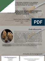 EXPOSICION PALINOLOGIA COPROPALINOLOGIA