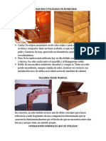 Maderas Mas Utilizadas en Honduras