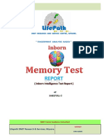 Inborn memory test report