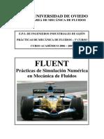 Prácticas de Simulación Númerica en Mecánica de Fluidos