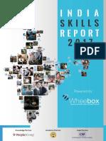 India Skills Report 2017