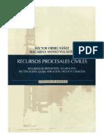 RECURSOS PROCESALES CIVILES - HECTOR OBERG YAÑEZ.pdf