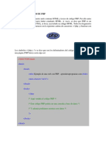 Conceptos Básicos de Php