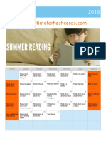 August Reading