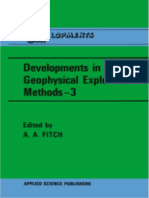 Developments in Geophysical Exp - A. K. Booer, A. a. Fitch