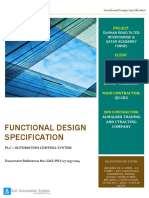 Functional Design Specification - Automation System
