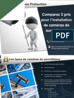 Comparez 3 Prix pour des Caméras de surveillance - Soumissions Protection