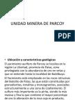 Unidad Minera de Parcoy