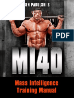 Mi 40 Training Manualy