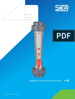 DS Variable Area Flow Meters