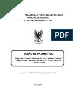 Especificaciones de Materiales Del Invias 2013