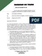 Circular Informativa 005