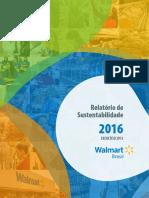 Walmart Relatório de Sustentabilidade 2016