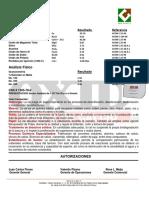 Ficha Tecnica Cal Viva Pulverizada OXID (Incal S.a. de C.v.)