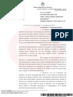 Báez, Lázaro Antonios/detención domiciliaria