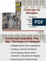 Challenges to Managers