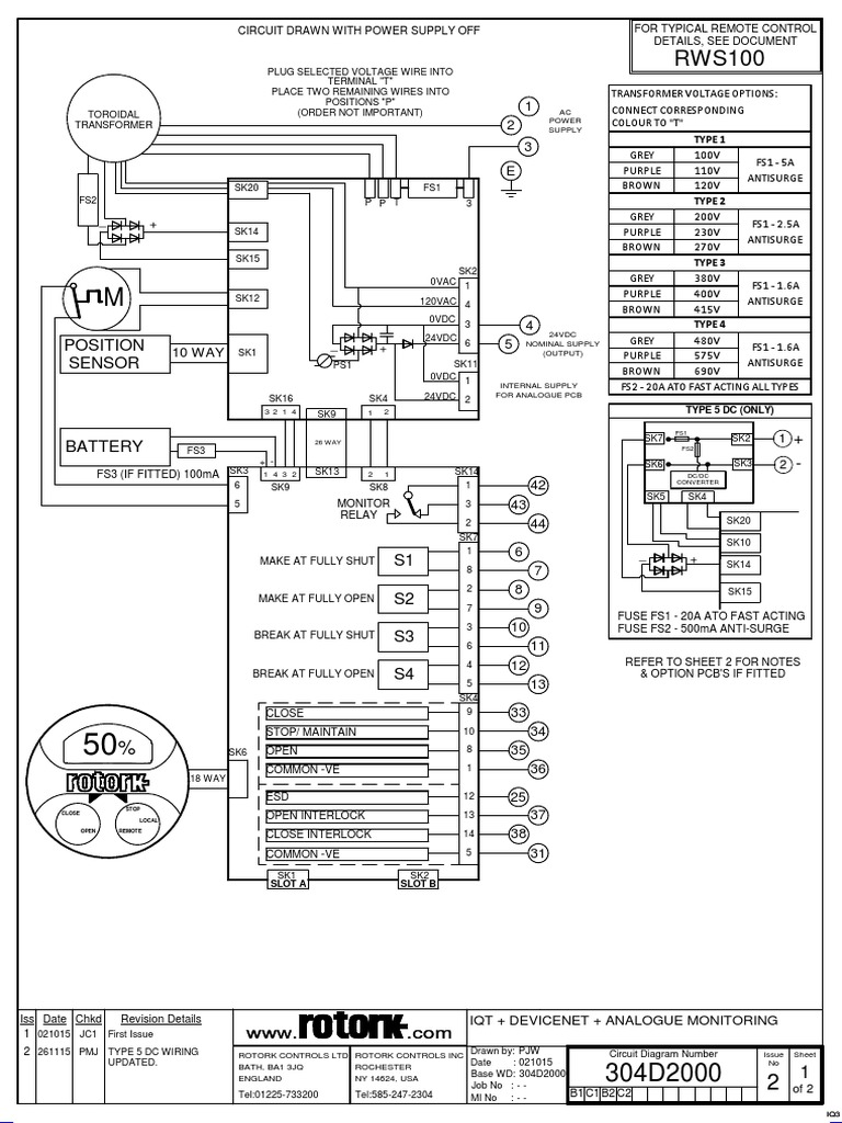 rotork wiring diagram 304d2000 2 switch power engineering rotork wiring diagram 1610a00 304d2000 2 switch power engineering