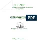 APOSTILA GESTAO AMBIENTAL