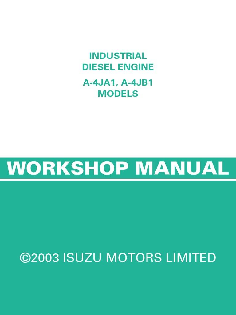 214602353 isuzu diesel engine 4ja1 and 4jb1 cylinder engine piston rh scribd com