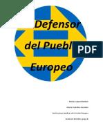 El Defesor Del Pueblo Europeo