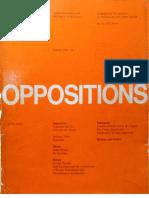 MONEO, Rafael - On Typology (Oppositions #13 - 1978)