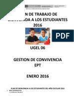 ANEXO 3 Socialización Plan de Trabajo de Bienvenida a Los Estudiantes