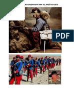 Uniformes de La Guerra Del Pacifico Chile