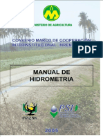 Manual de Hidrometria