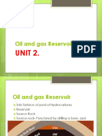 Oil and Gas Reservoir UNIT 2