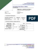 Msds Aceite de Pino