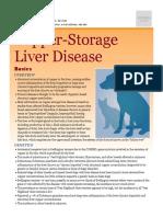 Copper-storage Liver Disease
