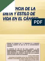 Influencia de La Dieta en El Cáncer (1)