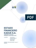 Informe Presupuesto TRABAJO FINAL