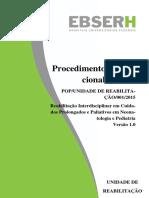 POP Reabilitacao Interdiscilplinar Em Cuidados Prolongados e Paliativos Em Neonatologia e Pediatria No Formato EBSERH 3